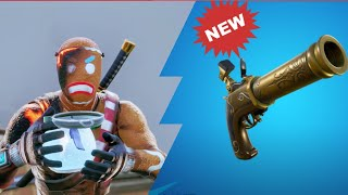 Flintlock Pistol, Heavy AR Nerf And New Healing Animation In Fortnite Battle Royale