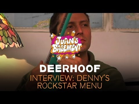 Deerhoof - Interview: Denny&#039;s Rockstar Menu - Juan&#039;s Basement
