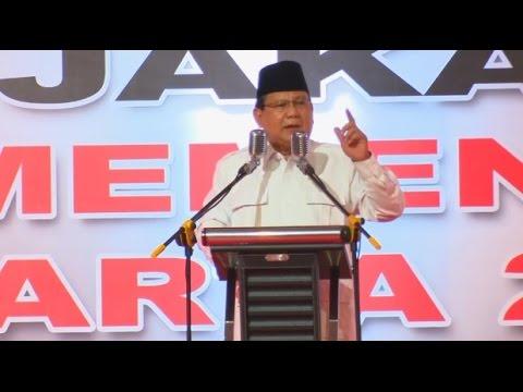 (Full) Prabowo Subianto Konsolidasi Politik di Rapat Akbar Gerindra untuk Anies - Sandi #1