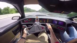 Driving the Knight Rider Car for the First Time