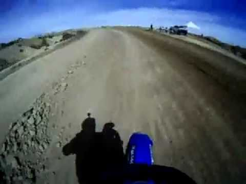 Cody Irby w/ GoPro Wide Camera @ Aaron Hill Fundraiser MX Race First Moto Video