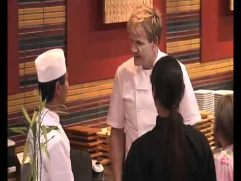Amazing food at sushi ko ramsay 39 s kitchen nightmares for Kitchen nightmares fake