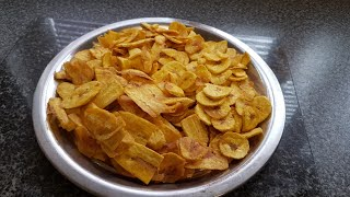 Green plantains chips africa style