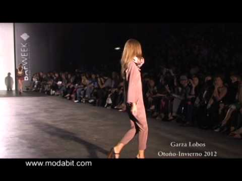Garza Lobos - BAFWeek Otoo-Invierno 2012