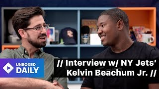 // Interview with NY Jets' Kelvin Beachum Jr. // (Unboxed Daily)