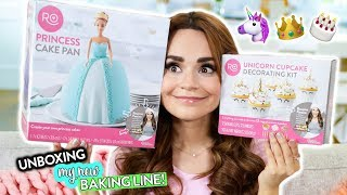 UNBOXING MY *NEW* BAKING LINE ITEMS! + Giveaway