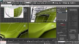 How to Model Audi R8 Modeling Tutorial in 3ds max Part 5 HD