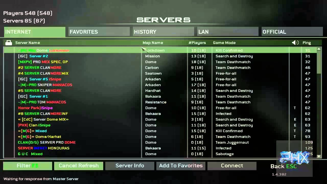 i3Dnet - Call of duty 4 Game Servers