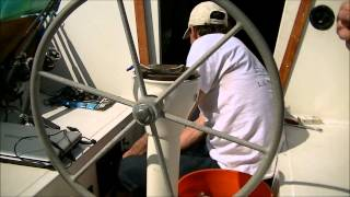 Sailboat Diesel Engine Reinstallation
