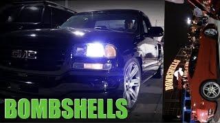 CAMMED GMC AT Bombshells Car MEET