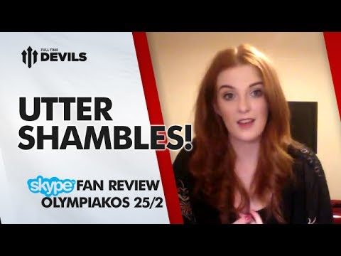 Utter Shambles! | Olympiakos 2-0 Manchester United | Champions League REVIEW