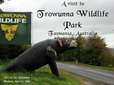 A visit to the Trowunna Wildlife Park, Tasmania, Australia