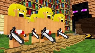 Monster School Clash of Clans -- Cubic Minecraft Animation