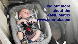 Jane Matrix Light 2, lie-flat car seat & Carrycot