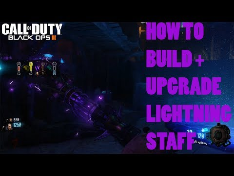 ORGINS - LIGHTNING STAFF BUILD + UPGRADE TUTORIAL GUIDE (Black Ops 3 Zombies Chronicles)