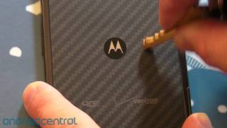 Kevlar on the Motorola Droid RAZR