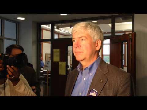 Gov. Rick Snyder responds to Proposal 1 criticisms
