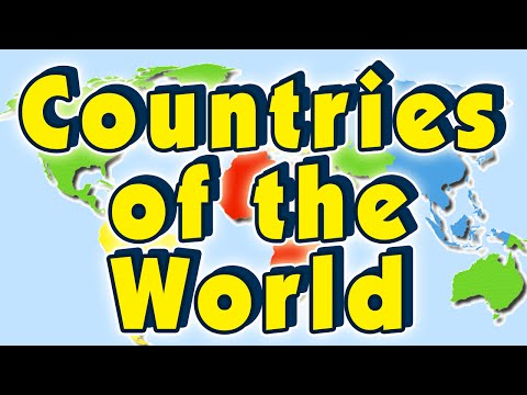 The Countries of the World Song | Learning Geography for Kids | Kids Learning | Kids Education