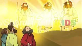Jesus Transfigured Matthew 17, Mark 9, Luke 9 Sunday School Lesson Resource