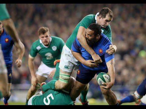 Ireland v France, Offical short highlights worldwide 14th Feb 2015