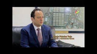 Sergio Palacios Trejo explica a Jaime Maussan el Sistema de Recoleccion y Separacion de Basura