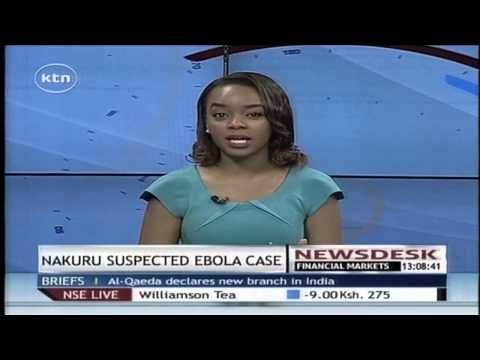 10-year-old Liberian boy admitted at a Nakuru hospital with ebola-like symptoms