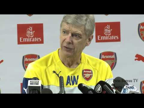 Arsene Wenger pre Arsenal vs Liverpool
