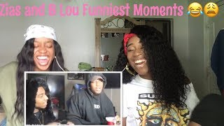 ZIAS AND B LOU FUNNY MOMENTS (HILARIOUS)