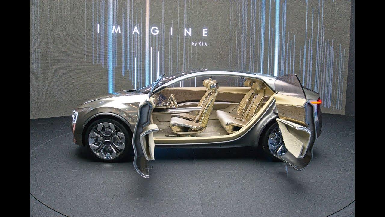 "Electric Future Car - Crossover Concept ""IMAGINE BY KIA"" at Geneva Motor Show 2019"