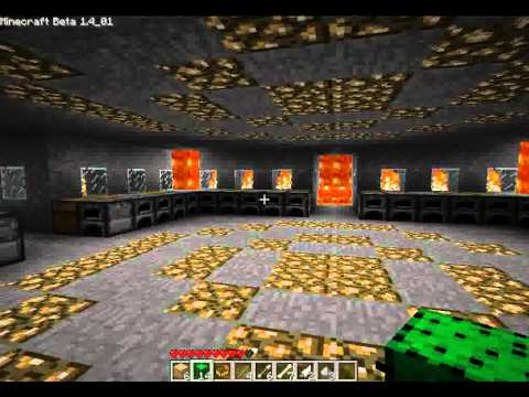 Minecraft Underground Mining Station