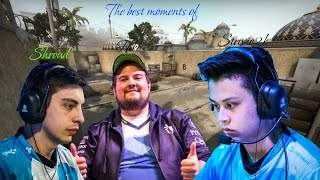 The best moments of | Shroud | Stewie2k | Hiko
