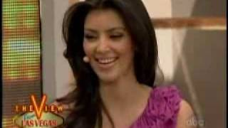 Kim Kardashian - The View 6/27/08