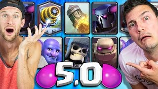 5.0 DECKS Nick & Molt 2v2 - Clash Royale