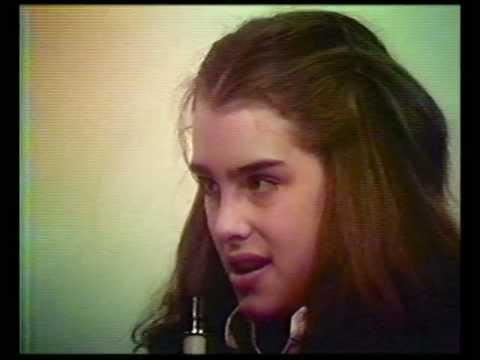 Brooke Shields, age 12, appearing on Efrom Allen's Underground TV show.