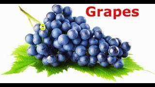 Grapes Song For Children | Grapes Fruit Rhyme for Children, Grapes Cartoon Fruits Song