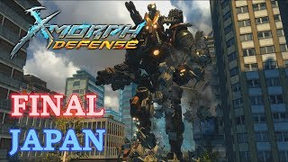 X-Morph: Defense Walkthrough - New Game - Final: Japan, Ending & Credits