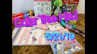 Dollar Tree Haul 5/21/19