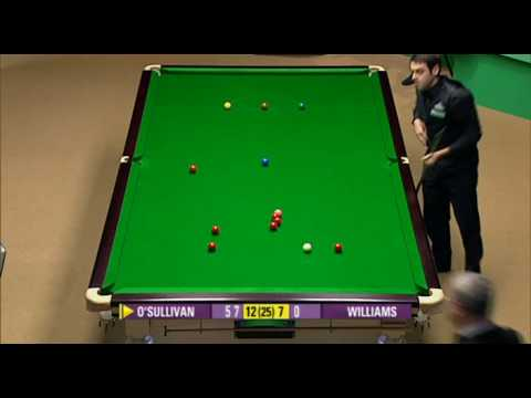 Ronnie O'Sullivan 147 at the 2008 Snooker World Championship Video