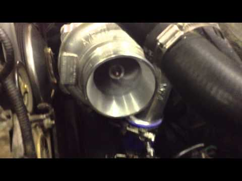 DIY Homemade Turbo 1999 Mustang GT Build - First Startup