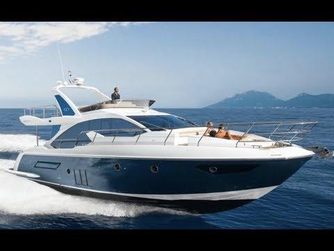 Tour the 2019 Azimut 50 Flybridge Yacht