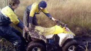 Seriously funny off-roading in Annaghmore (Northern Ireland)