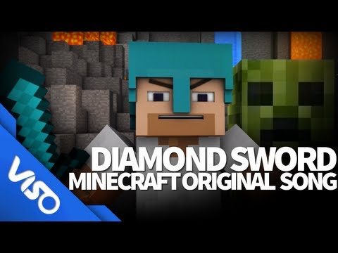 diamond Sword - Original Minecraft Song (minecraft Animation) video
