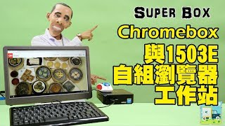 用Chromebox打造行動影音平台? 自組ASUS Chromebox CN60+1503E 15.6吋行動螢幕 │給奇創造GeChic