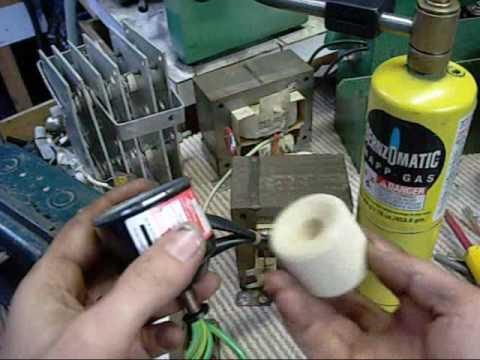 Refrigerant Filter Dryer Exposed