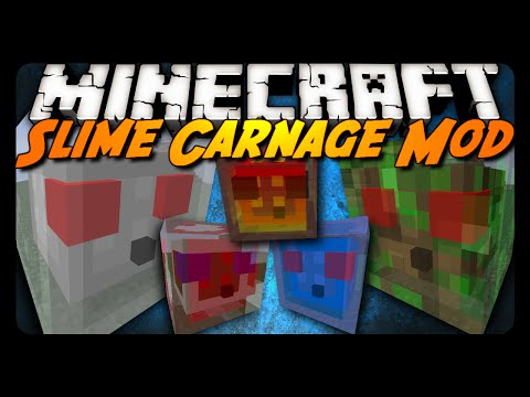 Minecraft Mod Review: SLIME CARNAGE!