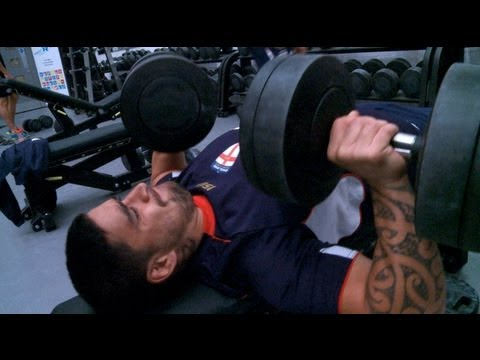 SLTV: England hit the gym