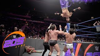 Dorado, Metalik & Carrillo vs. Gulak, Nese & Daivari: WWE 205 Live, Sept. 10, 2019
