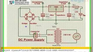 ac to dc power supply breadboard to prototype board