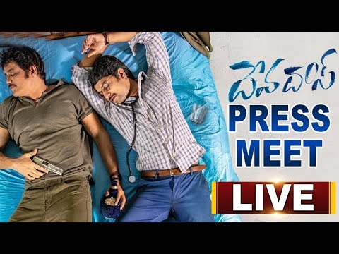 Devadas Movie Team Press Meet LIVE | Nagarjuna | Nani | ABN Telugu