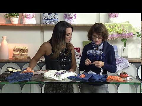 Aprenda a fazer um lindo bordado com fitas!